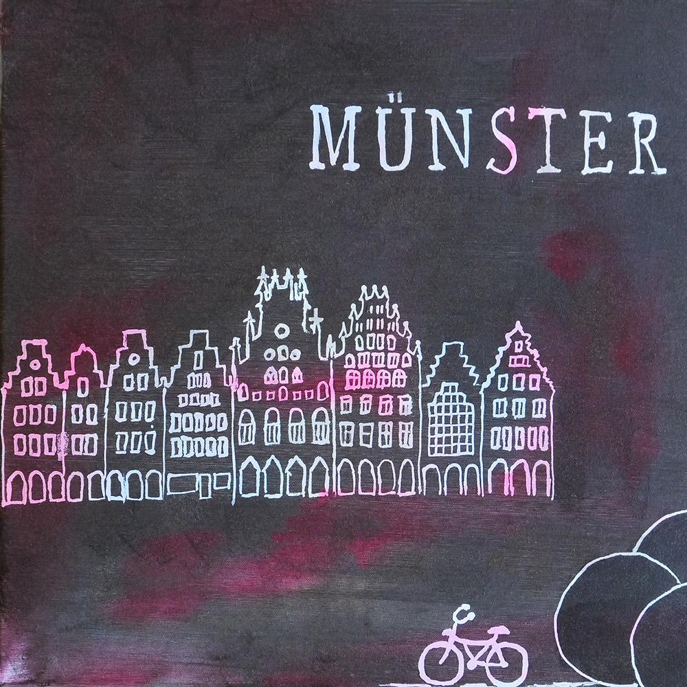 Monika Stöcker Farbenspiele Münster